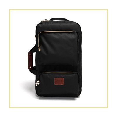 IBNIA Men's 4-WAY Multi Travel Bag (BLACK)【並行輸入品】