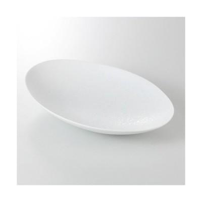☆ 楕円深皿 ☆ 青磁吹 楕円鉢 [ 27.5 x 17.5 x 4.5cm 400g ] 【 料亭 旅館 和食器 飲食店 業務用 】
