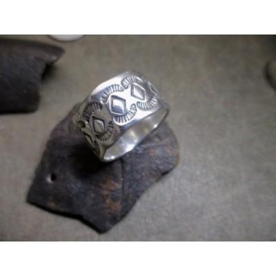 Silver925 Ring ・純銀指輪 、シルバーリング、 23号 、11.8g n1209