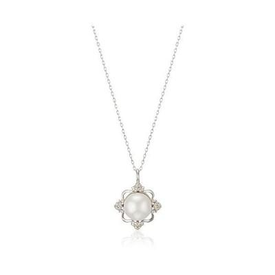 [ブルーム] 真珠 ネックレス BAPWB2738G40 ホワイトゴールド