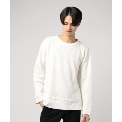 tシャツ Tシャツ NCB neat caprice brand(エヌシービーニートカプリスブランド)  ワッフルプルオーバー