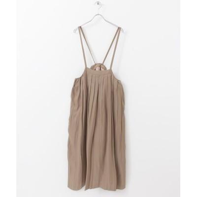 ITEMS URBAN RESEARCH / サロペットプリーツスカート WOMEN スカート > スカート