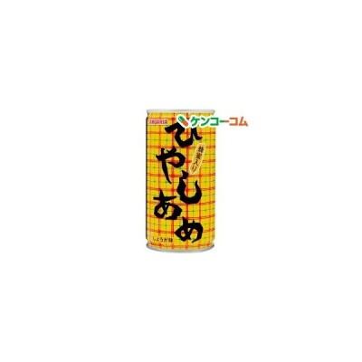 サンガリア ひやしあめ しょうが味 ( 190g*30本入 )