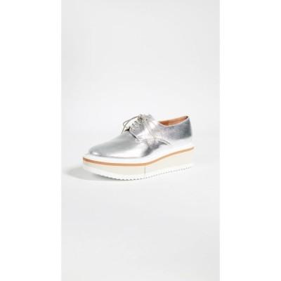 ロベール クレジュリー Clergerie レディース ローファー・オックスフォード シューズ・靴 Brook Oxfords Silver