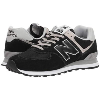 ニューバランス ML574v2 メンズ スニーカー 靴 シューズ Black/Black