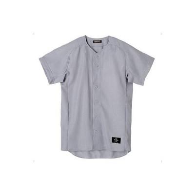 デサント(DESCENTE) ボタンダウンシャツ(スーパーライトリブメッシュ) STD-50TA SLV シルバー XA