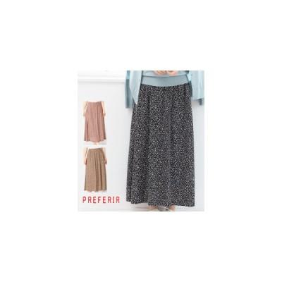 アニマルドットプリントAラインスカート(11040)