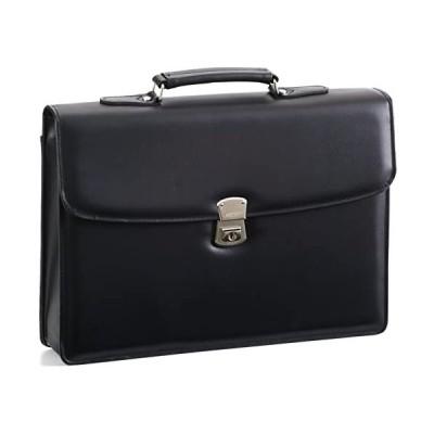 G-GUSTO-ジーガスト-合皮製かぶせクラッチバッグ(大)【B4サイズ対応・日本製・豊岡製】23466-01クロ