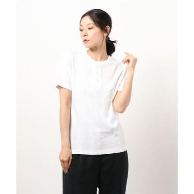 tシャツ Tシャツ 111C PANEL RIB HENLEY NECK