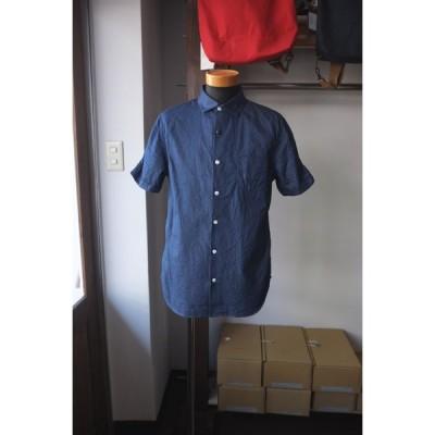 【期間限定ポイント10倍】Re made in tokyo japan アールイー Split Raglan Classical Shirt スプリットラグランクラシカルシャツ indigo