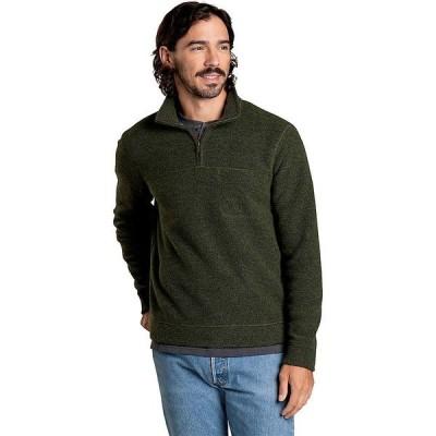 トードアンドコー ニット、セーター メンズ アウター Toad & Co Men's Breithorn 1/4 Zip Sweater Olive