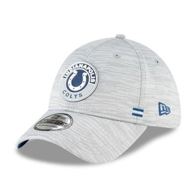 コルツ キャップ 帽子 NFL ニューエラ New Era グレー 2020 NFL サイドライン 39THIRTY メンズ