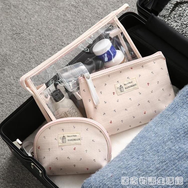 隨身化妝包女網紅小號便攜可愛日系韓國大容量旅行洗漱包品收納袋 聖誕節全館免運 摩可美家