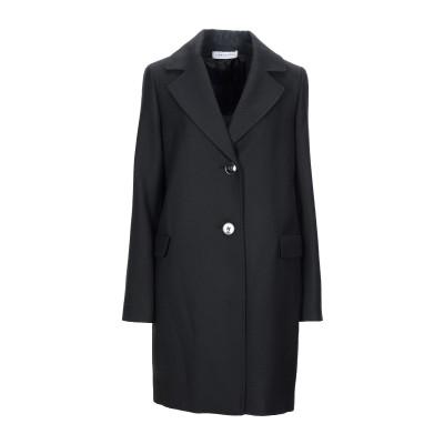 CARACTÈRE コート ブラック 44 アクリル 80% / ウール 20% コート