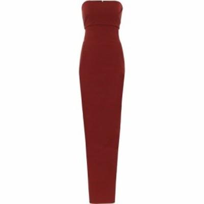 リック オウエンス Rick Owens レディース パーティードレス マキシ丈 ワンピース・ドレス Cotton-blend jersey maxi dress Cherry