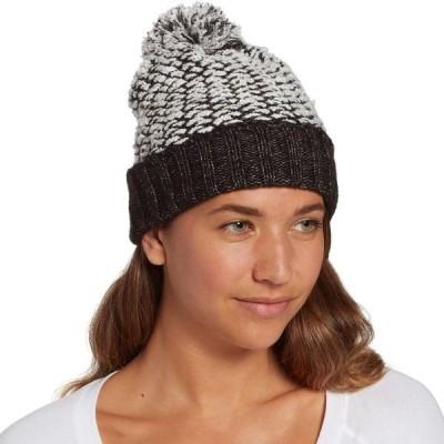 アルパインデザイン 帽子 アクセサリー レディース Alpine Design Women's Chunky Pom Beanie Asphalt