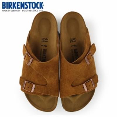 ビルケンシュトック BIRKENSTOCK チューリッヒ ZURICH 0050403 メンズ シューズ 靴 ブラウン スエード レザー 本革