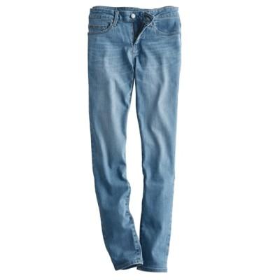 【大人気スキニーデニムに待望の新色登場!】すごく伸びるデニムスキニーパンツ(選べる3レングス) (レディースパンツ)Pants