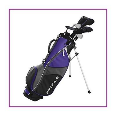 Wilson Youth Profile JGI Complete Golf Set -Left Hand, Medium, Purple【並行輸入品】
