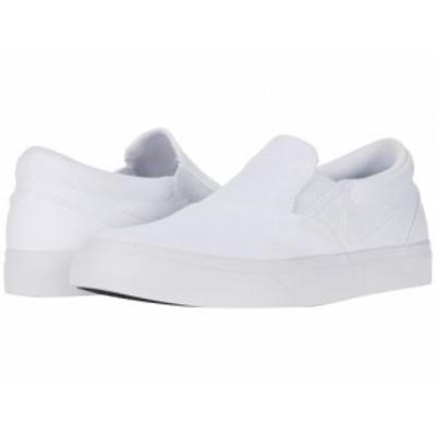 Nike SB ナイキ レディース 女性用 シューズ 靴 スニーカー 運動靴 Charge Canvas Slip White/White/White【送料無料】