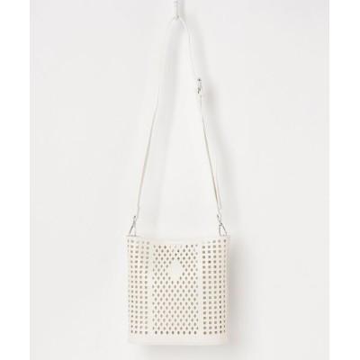 VARIOUS SHOP / ポーチ付き型抜きバッグ WOMEN バッグ > ハンドバッグ