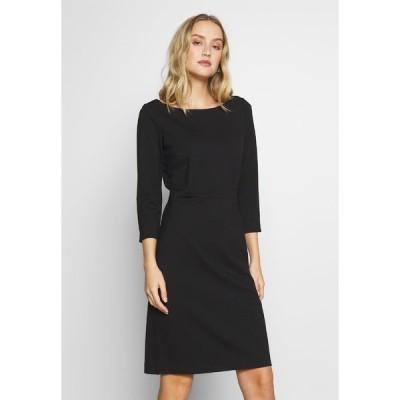 トムテイラー ワンピース レディース トップス DRESS PUNTO DIE ROMA - Day dress - deep black