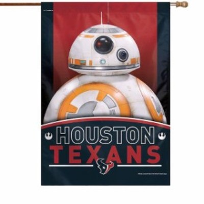 WinCraft ウィンクラフト スポーツ用品  WinCraft Houston Texans 28 x 40 Star Wars Single-Sided House Banner
