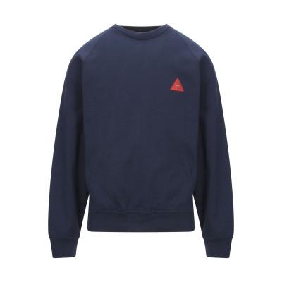 GR-UNIFORMA スウェットシャツ ブルー M コットン 100% スウェットシャツ