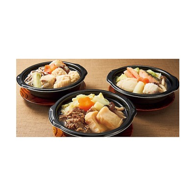【お歳暮】<日本料理 一乃松> 冬の美味個食鍋セット【三越伊勢丹/公式】