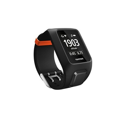 TomTom Adventurer GPS Multisport Watch with Built-in Heart Rate Monitor, Music Player, Altimeter, Compass etc., Black 並行輸入品