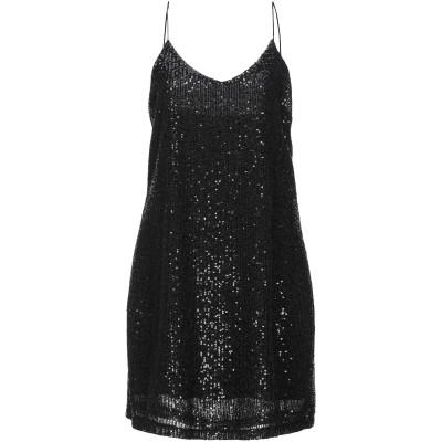 ベルナ BERNA ミニワンピース&ドレス ブラック M ポリエステル 100% / レーヨン / ポリウレタン ミニワンピース&ドレス