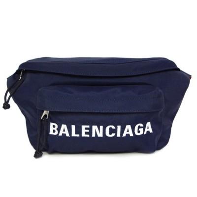 バレンシアガ バッグ メンズ レディース BALENCIAGA ボディバッグ ウィール 533009 HPG1X 4370 ネイビー