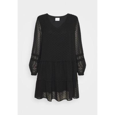ヴィラ プティ ワンピース レディース トップス VIMOSI DRESS - Day dress - black