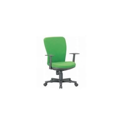 アイコ   ミドルバック T型肘タイプ OA-1255TJ 事務椅子OA チェア座W465 H900  FG3グレーGR