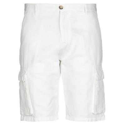 DIKTAT ショートパンツ&バミューダパンツ  メンズファッション  ボトムス、パンツ  ショート、ハーフパンツ ホワイト