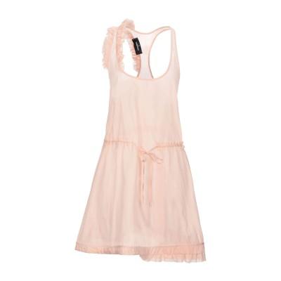ディースクエアード DSQUARED2 ミニワンピース&ドレス ピンク 38 ポリエステル 61% / シルク 39% ミニワンピース&ドレス