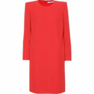 ジバンシー Givenchy レディース ワンピース ワンピース・ドレス Crepe minidress Red