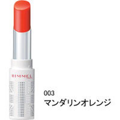 RIMMELRIMMEL(リンメル) ラスティングフィニッシュ ティントリップ 003マンダリンオレンジ