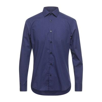 DOMENICO TAGLIENTE シャツ ブルー 41 コットン 100% シャツ