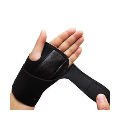 ZICHEN Removable Adjustable Wristband Steel Wrist Brace Support Arthritis Sprain Carpal Tunnel Splint Wrap Protector (Size : Left Wrist)【