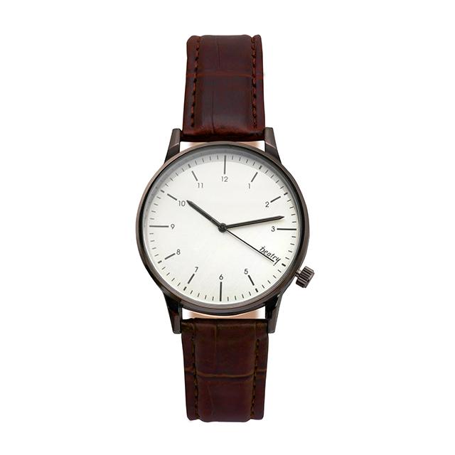 韓風簡約金屬紋質感手錶