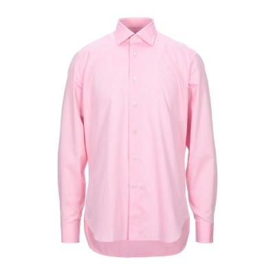 アルヴィエロ マルティーニ プリマ クラッセ ALVIERO MARTINI 1a CLASSE シャツ ピンク 40 コットン 100% シャツ