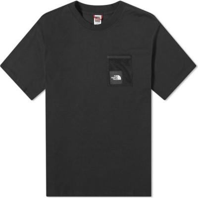 ザ ノースフェイス The North Face メンズ Tシャツ ポケット トップス Black Box Cut Pocket Tee Black