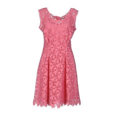 エルマノ シェルヴィーノ ERMANNO SCERVINO ミニワンピース&ドレス ピンク 44 ポリエステル 100% ミニワンピース&ドレス
