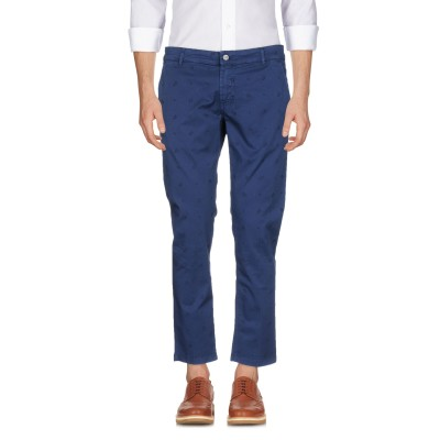 アントレ アミ ENTRE AMIS パンツ ブルー 31 コットン 97% / ポリウレタン 3% パンツ