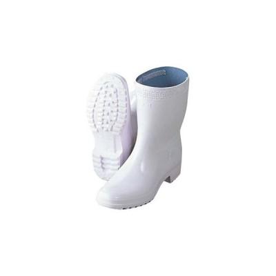 アキレス 長靴 ハイルクスホワイト 26cm【 ユニフォーム 】