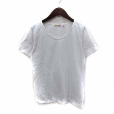 【中古】パラスパレス Pallas Palace Tシャツ カットソー 半袖 F 白 ホワイト /YI レディース