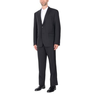 TRU TRUSSARDI スーツ ブラック 52 94% バージンウール 4% ナイロン 2% ポリウレタン スーツ