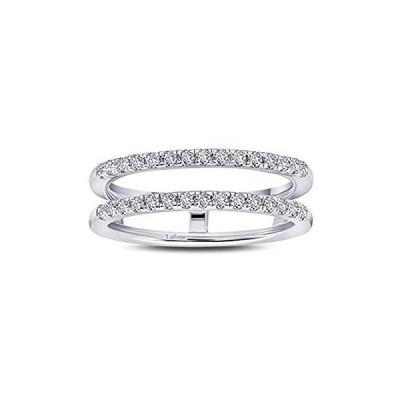 Lafonn Classic Platinum-Plated Simulated Diamond Ring (0.45 CTTW)