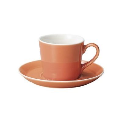 コーヒーカップ ソーサー オランジュ パシオン おしゃれ カフェ 食器 業務用 美濃焼